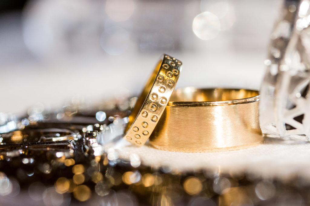 Wedding Rings Macro Photography