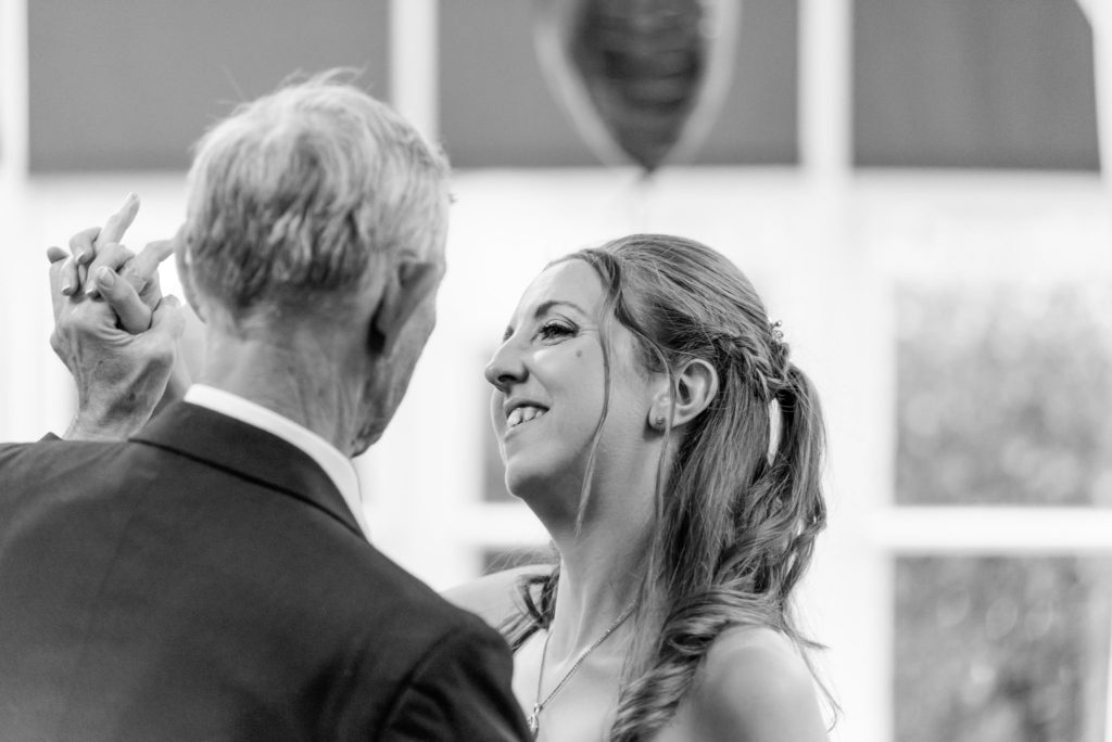 wedding dance photo father and daughter