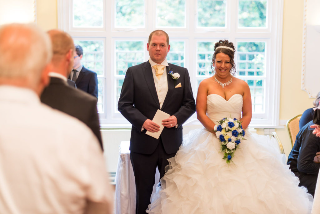 wedding ceremony The Grange Country House Hotel Wedding Photography