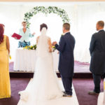 Ceremony at Beddington Park & The Grange Surrey Wedding Photography